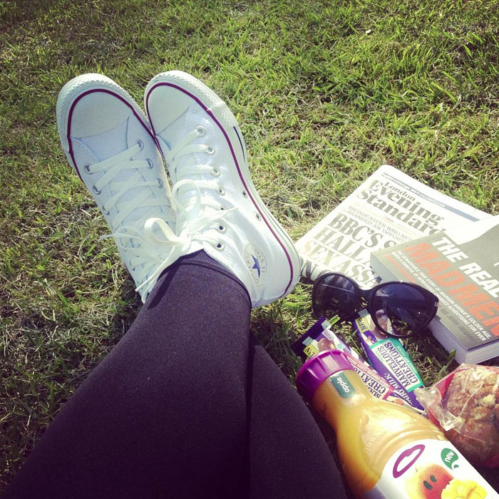 Lunch Break In Regent's Park, London