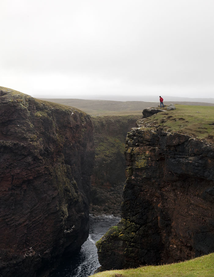 Staring Into The Abyss - Shetland Island