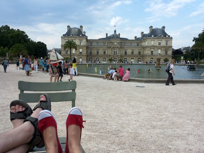 The Jardin Du Luxembourg, Paris