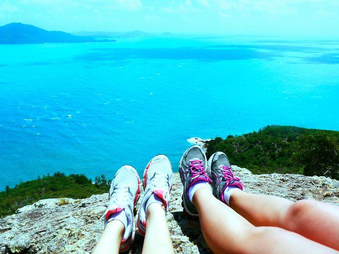 Resting At The Top Of Hamilton Island, Australia