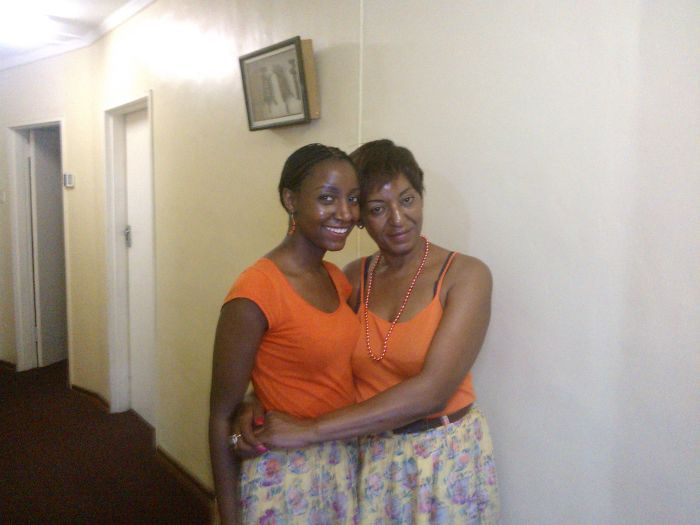 Mum & Me In Matching Bold Colour + Summer Florals