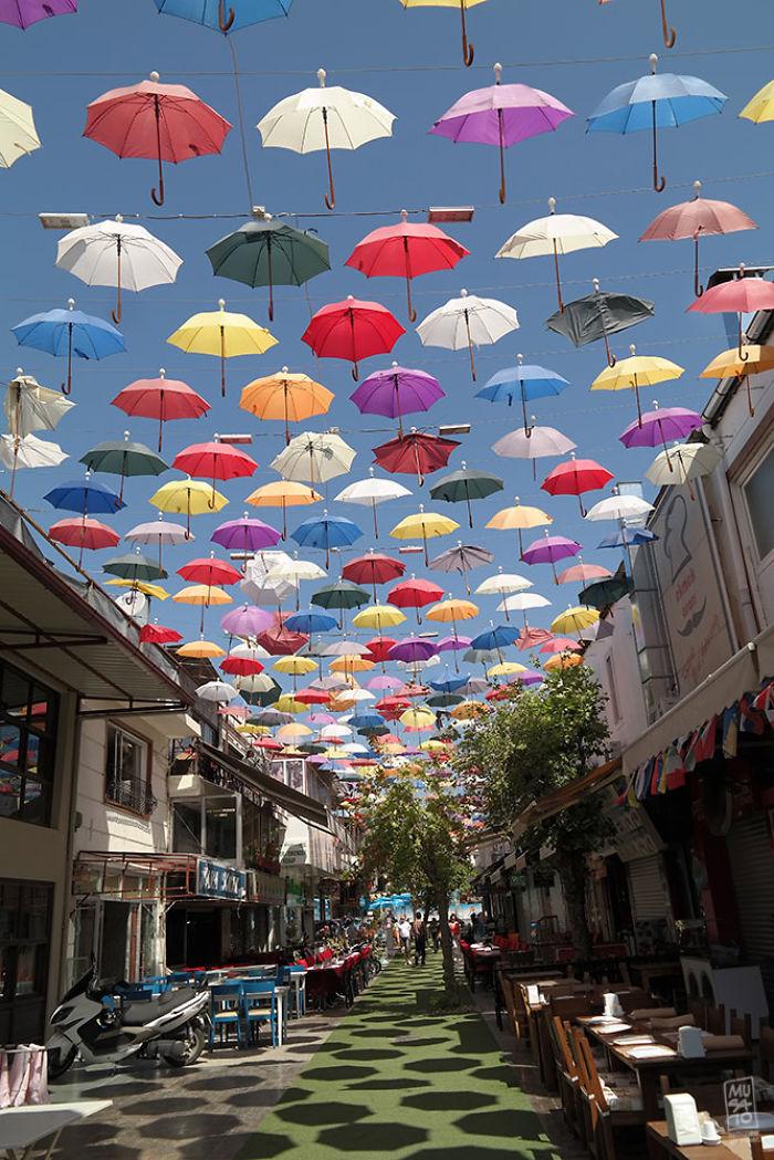 Umbrella Sky, Antalya Turkey
