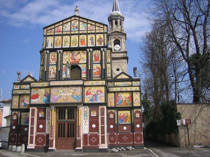 Chiesa Di San Pietro, Pizzighettone-cremona-italy