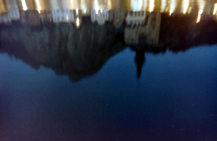 Dinant, Belgium – Night Time Reflection