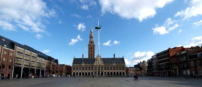 Giant Needle + Bug By Jan Fabre In Leuven (belgium)