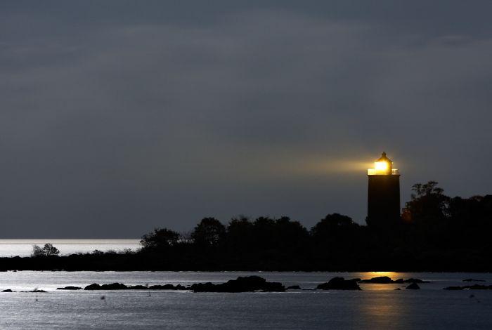 Svaneke Lighthouse, Bornholm, Denmark