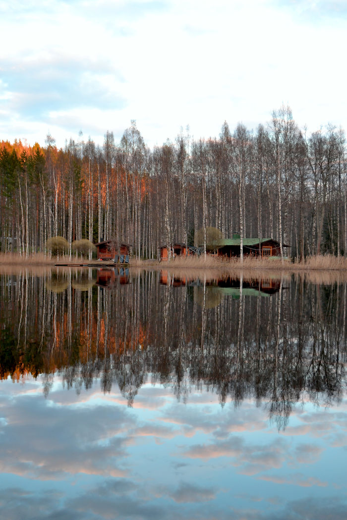 Spring Coming In Southern Finland