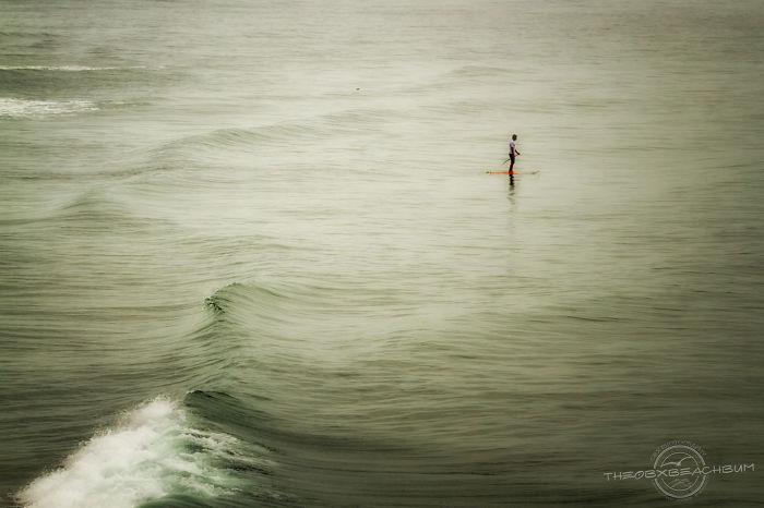 Sup'er Man On The Ocean