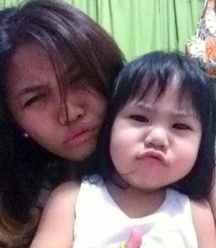 Duck Face With My Sweet Lexine