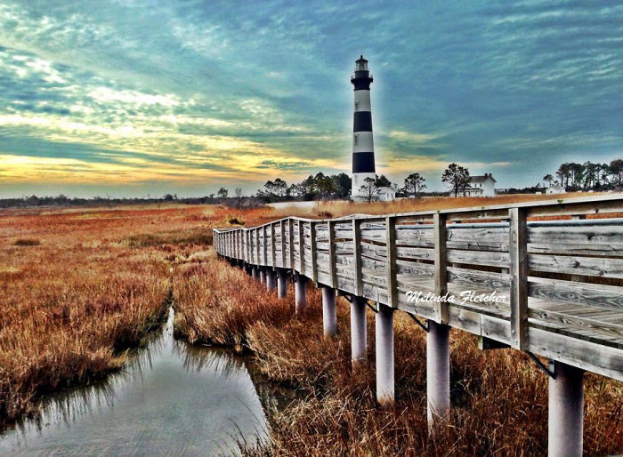 Bodie Island - Nags Head, North Carolina, Usa - Built 1872