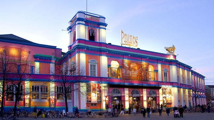 """Cinema """"palads"""" In Copenhagen, Denmark"""