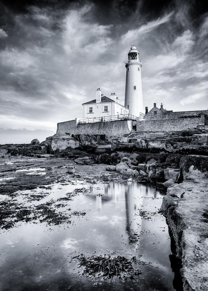 St Mary's Lighthouse, Uk