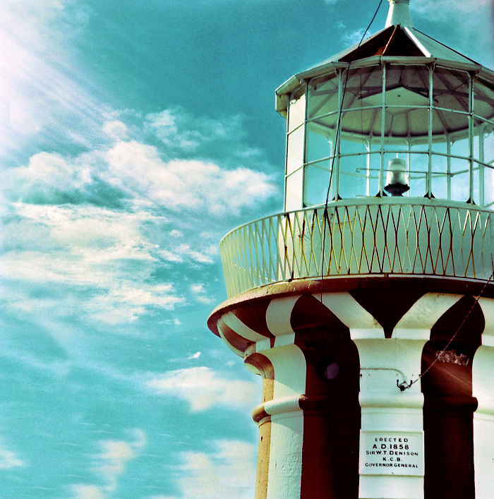 Lighthouse In Sydney With Hasselblad