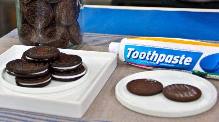 Toothpaste Cookies