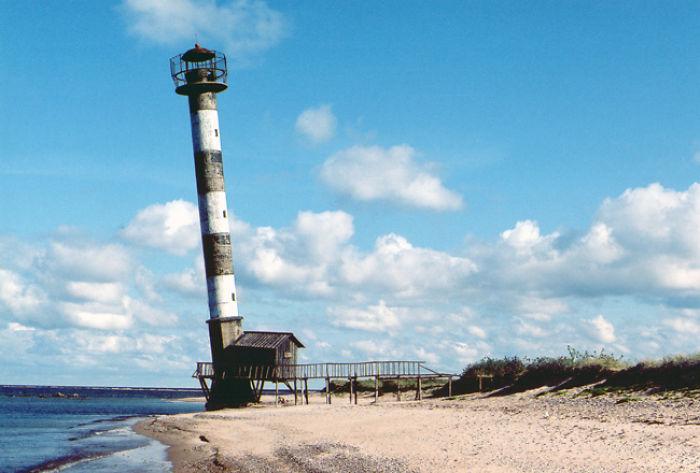 Kiipsaare Daymark On Island Saaremaa, Estonia