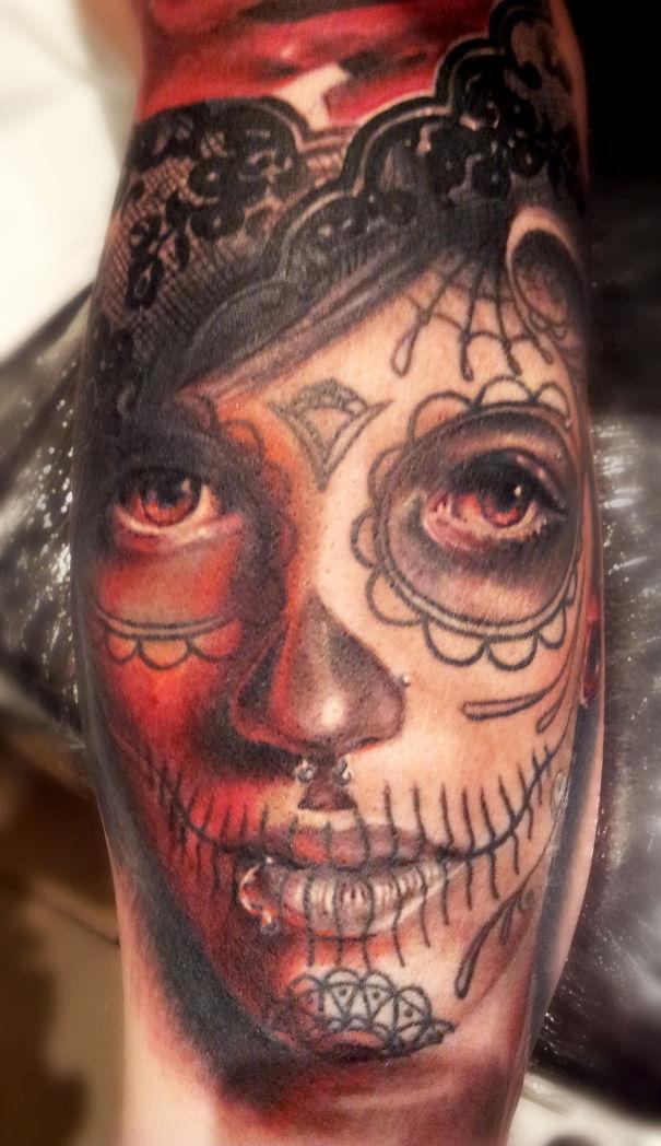 I m a tattoo artist from latvia bored panda for Best realistic tattoo artists
