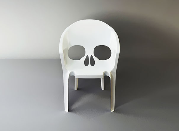 Skull Chair [Pic]
