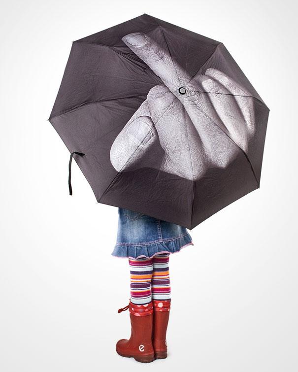 F*** You Rain Umbrella[Pic]