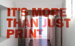 Anamorphic Typography by Joseph Egan