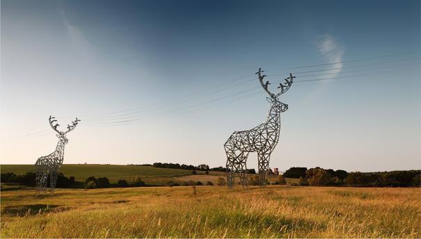 Deer Pylons