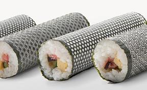 Laser Cut Seaweed for Sushi Rolls