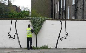 Bush: New Street Art Installation by Banksy