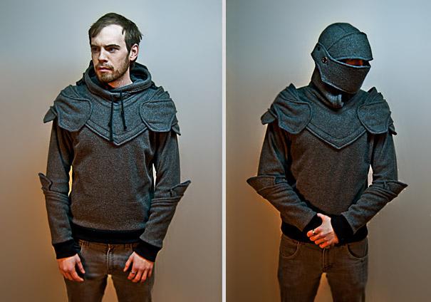"""Grey Knight Armored Hoodie. """" 40df197ff81a"""