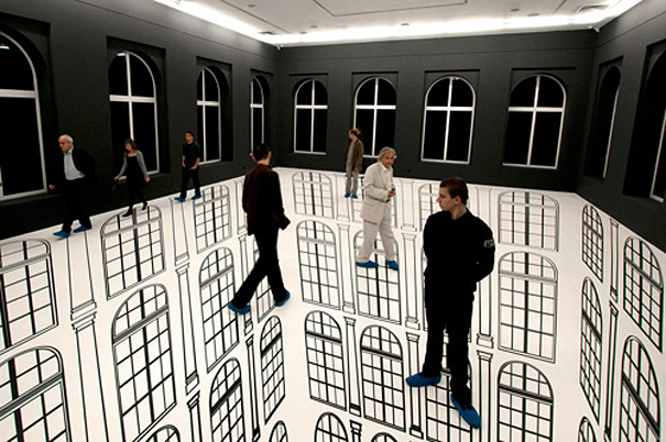 Abyssal: Amazing Optical Illusion by Regina Silveira