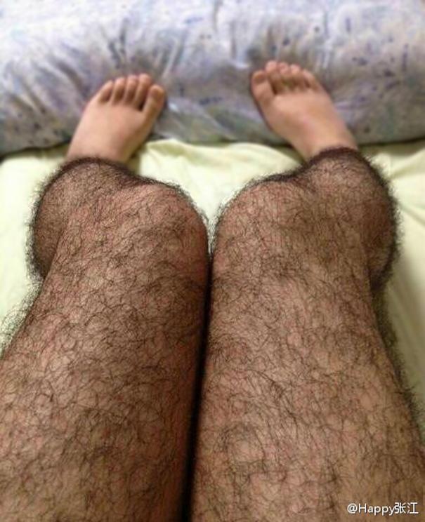 Anti-Pervert Hairy Stockings