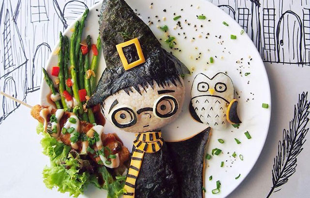 Stay-At-Home Mom Makes Creative Lunches For Her Kids, Becomes Internet Star