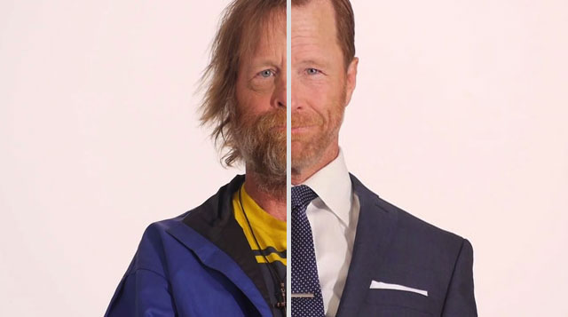 BEFORE and AFTER: Homeless Veteran Receives a Stunning Makeover