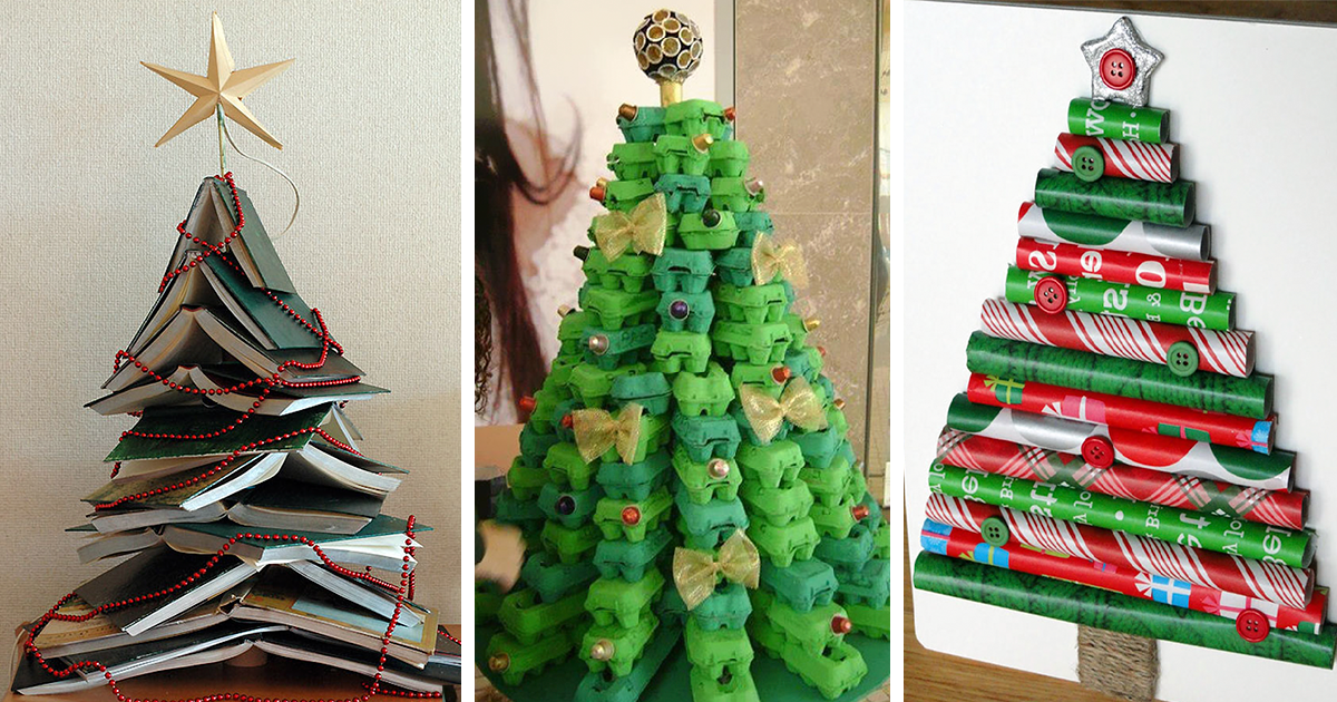 22 creative diy christmas tree ideas bored panda solutioingenieria Images