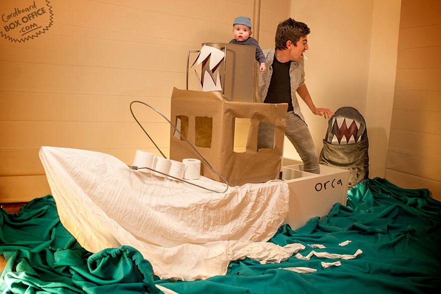 famous-movie-scenes-baby-photography-cardboardboxoffice-3