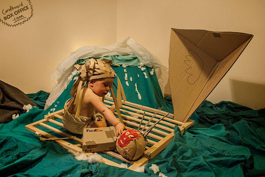 famous-movie-scenes-baby-photography-cardboardboxoffice-6