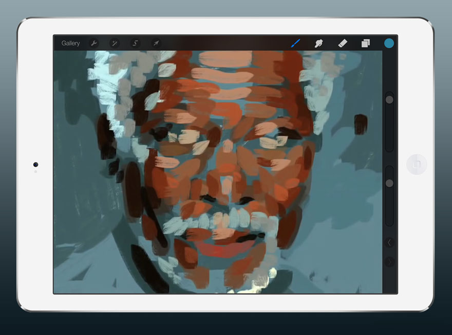 ipad-finger-painting-morgan-freeman-kyle-lambert-4
