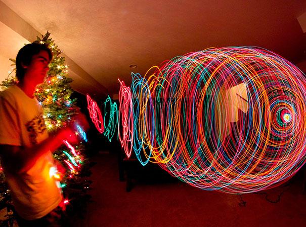 Spinning Christmas Tree