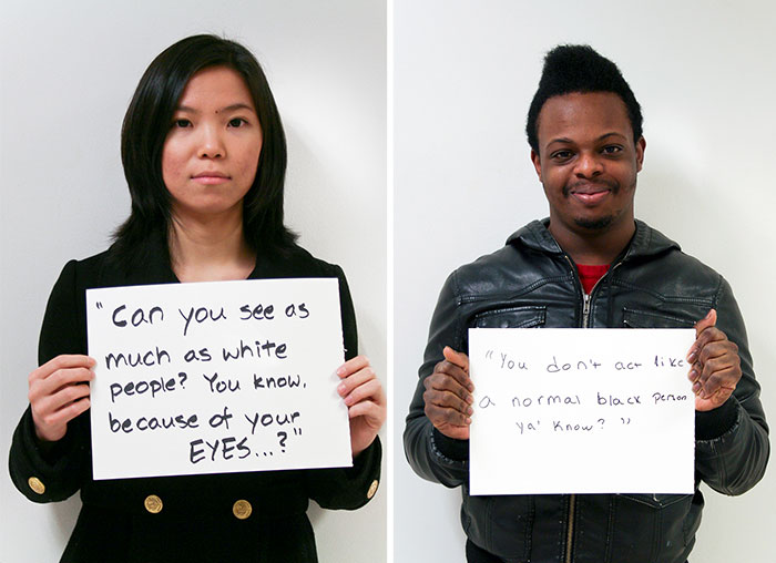 Young Photographer Highlights The Every-Day Racism That Many Of Us Don't See