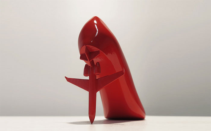 Artist Creates 12 Shoes For 12 Ex Lovers