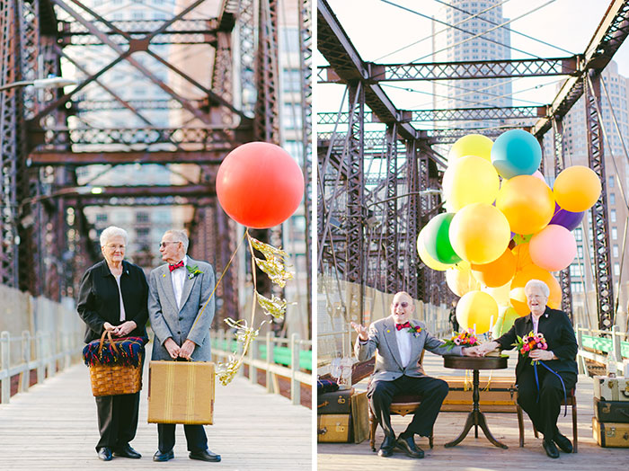 "Couple Celebrates Their 61st Anniversary With ""Up"" Inspired Photoshoot"