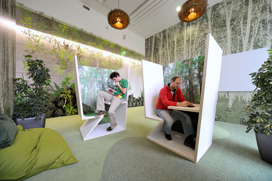 Superb 12 Of The Coolest Offices In The World Bored Panda Largest Home Design Picture Inspirations Pitcheantrous