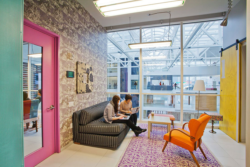 Astounding 12 Of The Coolest Offices In The World Bored Panda Largest Home Design Picture Inspirations Pitcheantrous