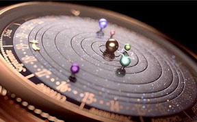 This Astronomical Watch Accurately Shows The Solar System's Movements On Your Wrist