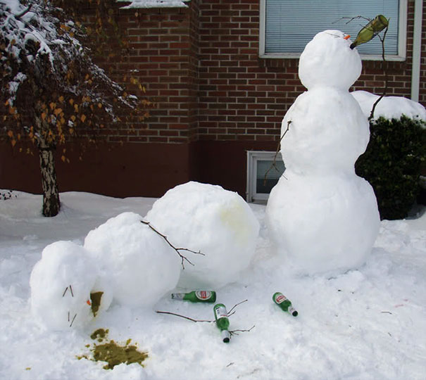These 30 Crazy Snowman Ideas Would Make Calvin And Hobbes ...