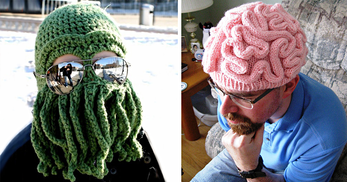 25 cool winter hats that will keep you warm bored panda