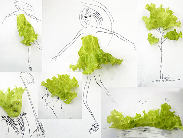 Everyday Objects Turned Into Playful Illustrations by ...