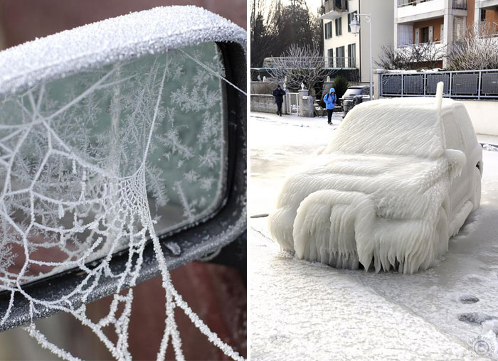 15+ Cars That Winter Turned Into Art