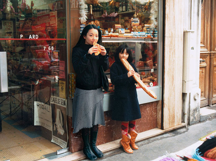 Photographer Travels Through Time By Inserting Herself Into Her Childhood Photos
