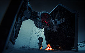 15 Epic Movie Scenes Recreated With LEGOs And Baking Soda