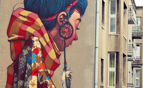 Stunning Murals By