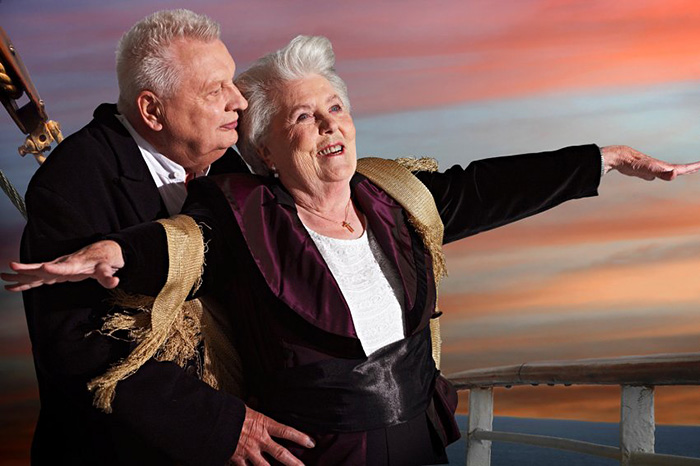 Badass Nursing Home Residents Recreate Famous Movie Scenes